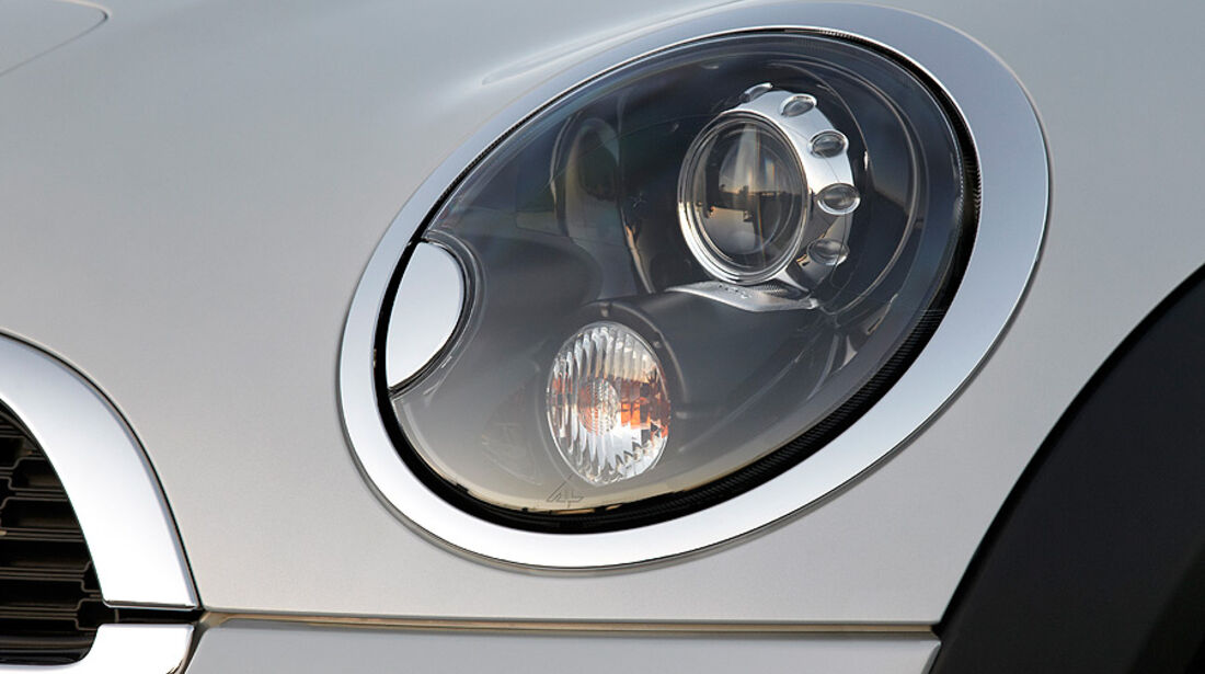 Mini Roadster, Scheinwerfer