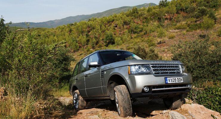 Mit Facelift und viel neuer Technik geht der Range Rover ins Modelljahr 2010