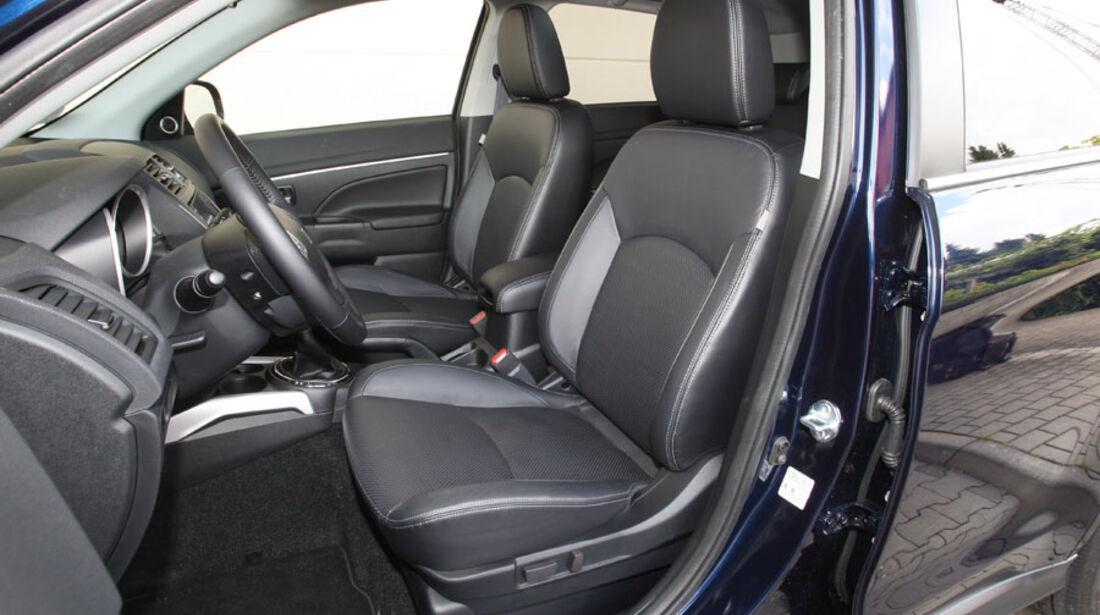 Mitsubishi ASX, Innenraum, Sitze