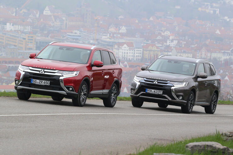 Mitsubishi Outlander 2.2 DI-D 4WD, Mitsubishi Outlander Plug-in Hybrid
