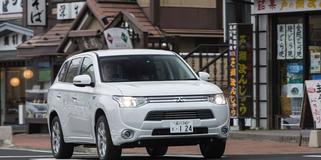Mitsubishi Outlander PHEV, Frontansicht