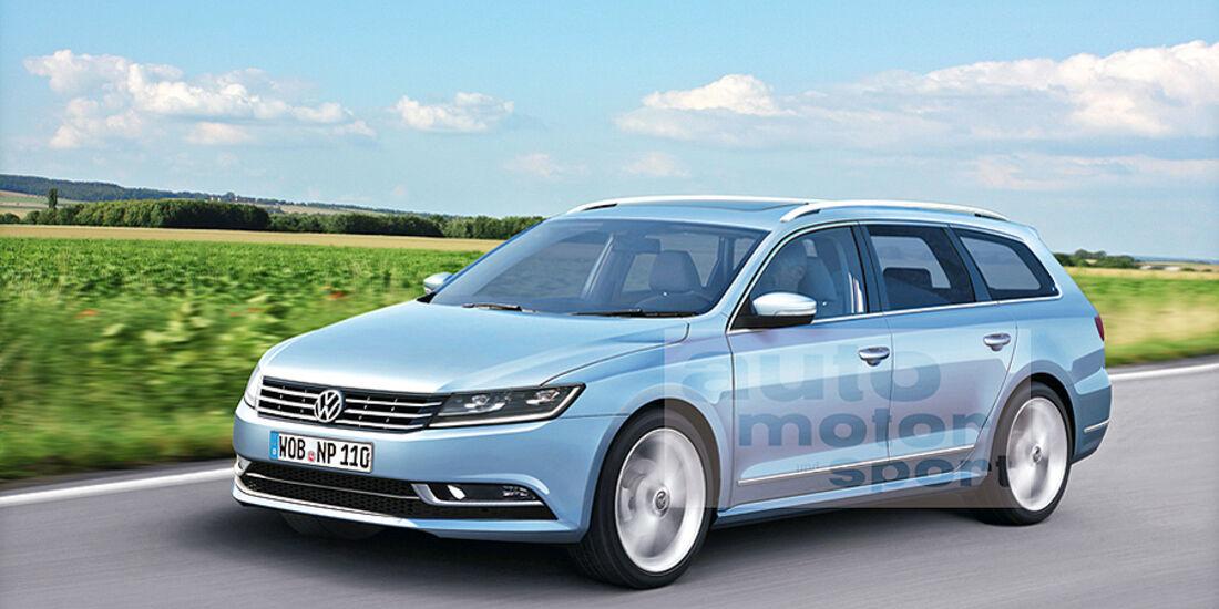 Mittelklasse-Limousine VW Passat Variant