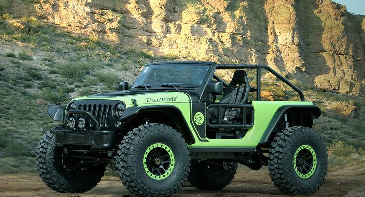 Moab Easter Jeep Safari Concepts 2016: Jeep Trailcat
