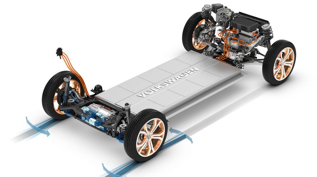Modulare Elektrifizierungsbaukasten