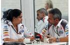 Monisha Kaltenborn - Beat Zehnder - Formel 1 - GP USA - 30. Oktober 2014