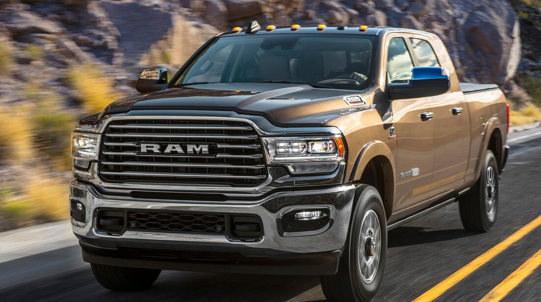 Monströser 2019 RAM Heavy Duty