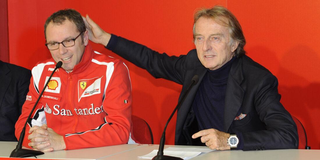 Montezemolo & Domenicali Ferrari Mondiali 2011 Mugello