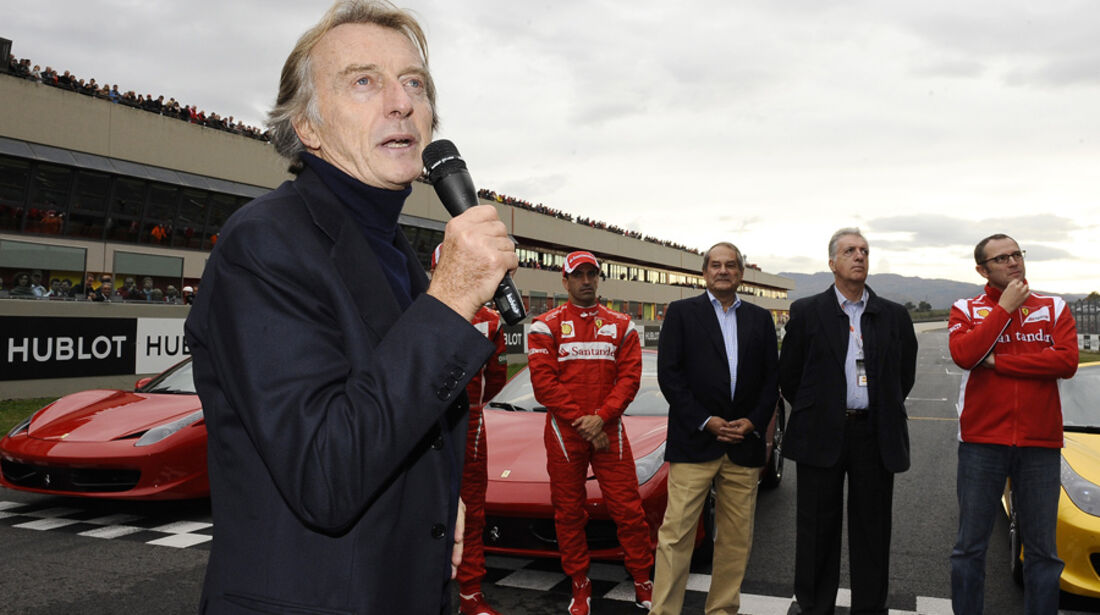 Montezemolo Ferrari Mondiali 2011 Mugello