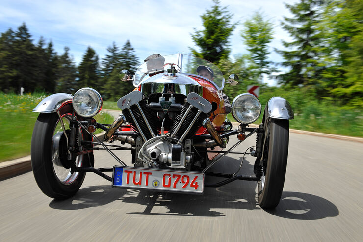 Morgan Super Sports, Kühlergrill