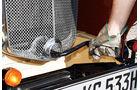 Morris Minor Saloon, Auto Kurbel, Detail