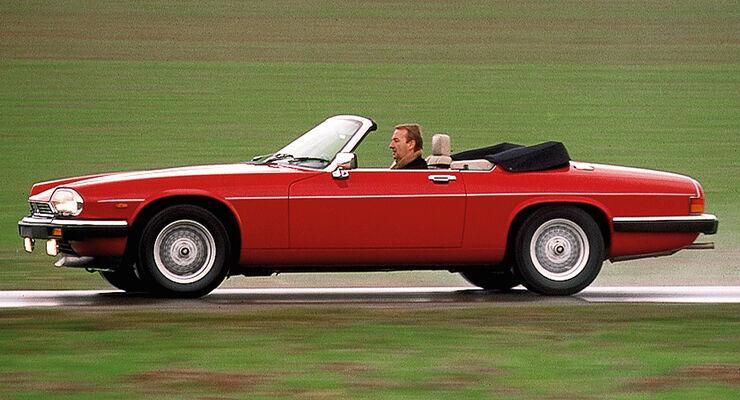 jaguar xjs cabrio im fahrbericht auf der sonnenseite. Black Bedroom Furniture Sets. Home Design Ideas
