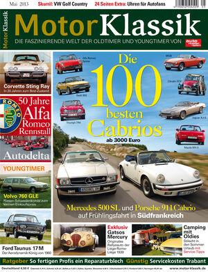 Motor Klassik 05/2013