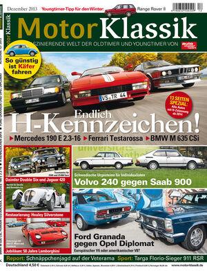 Motor Klassik 11/2013
