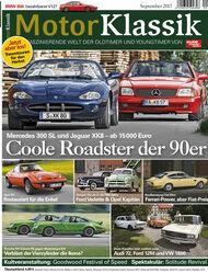 Motor Klassik Heft 9 / 2017