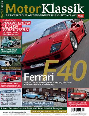 Motor Klassik - Hefttitel, Titel  06/2012