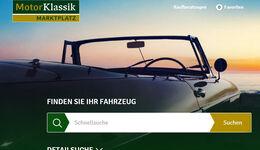 Motor Klassik Markt Marktplatz Homepage Startseite