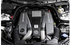 Motor V8-Biturbo Mercedes E 63 AMG