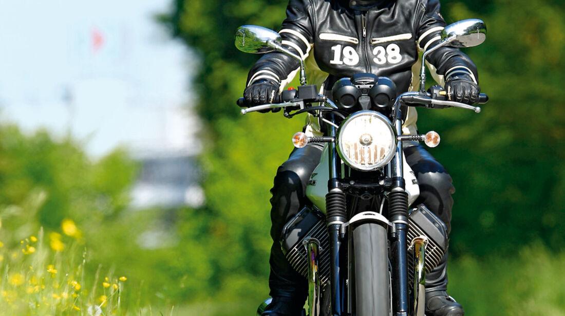 Motorrad, Frontansicht