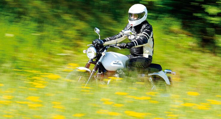 Motorrad, Seitenansicht
