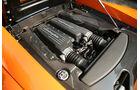 Motorraum mit V10 des Lamborghini Gallardo LP 570-4 Superleggera