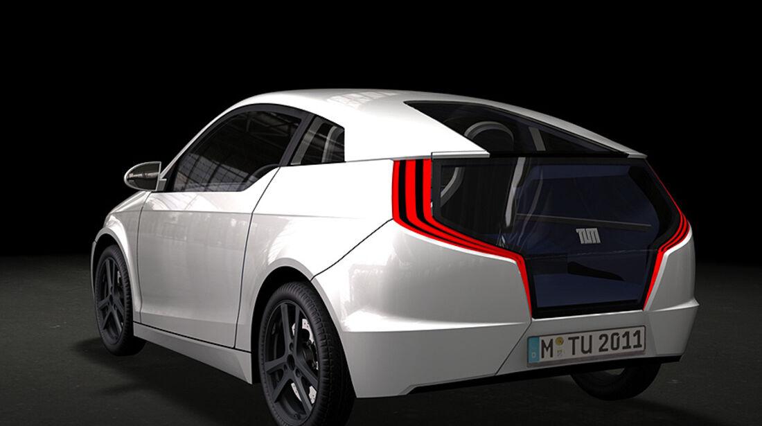 Mute, E-Auto der TU München auf der IAA 2011