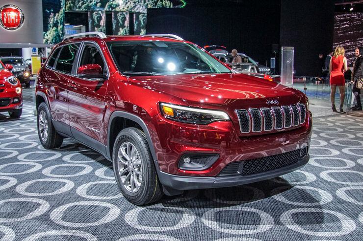 Jeep Cherokee (2018) Premiere: Neue Optik für den Indianer ...