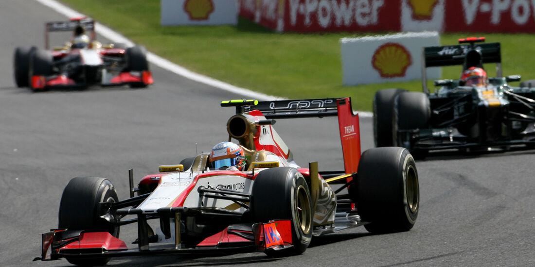Narain Karthikeyan GP Belgien 2012