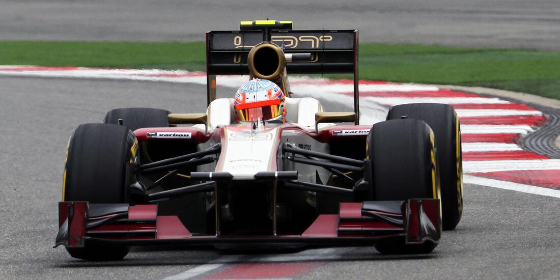 Narain Karthikeyan GP China 2012