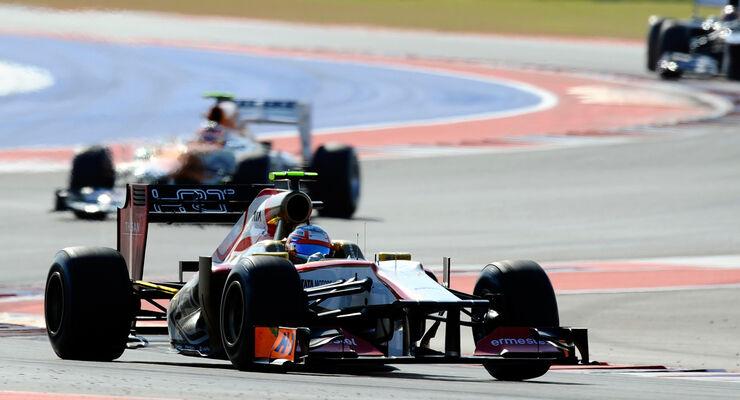 Narain Karthikeyan GP USA 2012