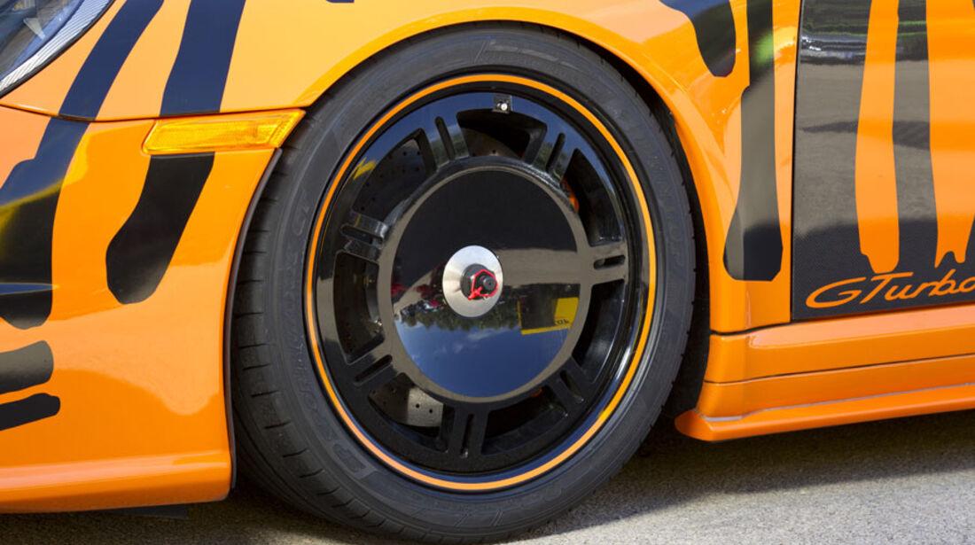 Nardo 2010 Tuning-Modelle, 9ff Porsche, Reifen, Felge