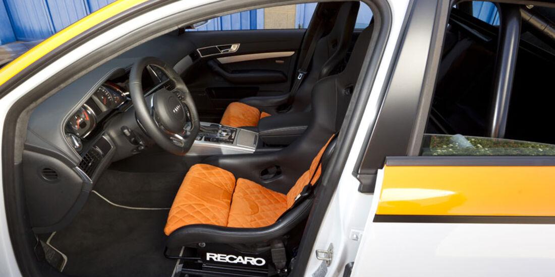 Nardo 2010 Tuning-Modelle, MTM Audi RS6, Innenraum Cockpit