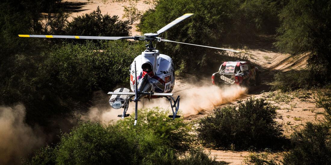 Nasser Al-Attiyah - Toyota Hilux - Rallye Dakar 2018 - Motorsport