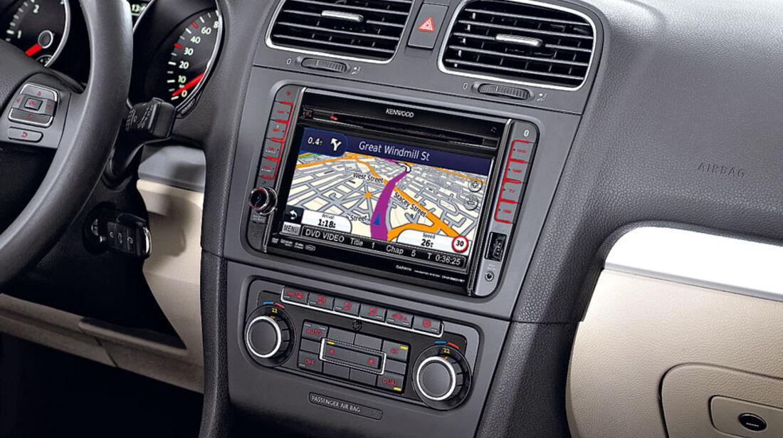 Navigationssysteme zum Nachrüsten, Kenwood DNX520VBT