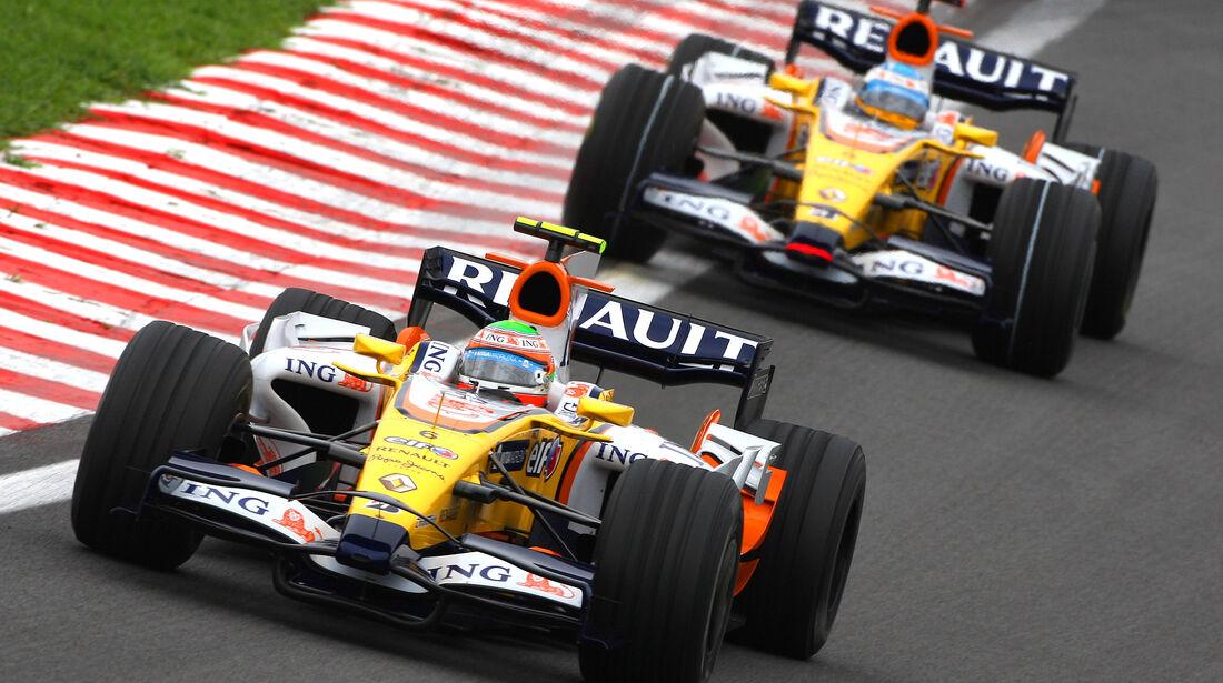 Nelson Piquet & Fernando Alonso - Formel 1 - 2018