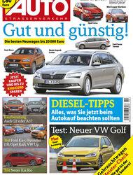 Neues Heft AUTOStrassenverkehr, Ausgabe 09/2017, Vorschau
