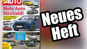 Neues Heft Auto Straßenverkehr 10/2018