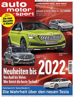 Neues Heft auto motor und sport 10/2018
