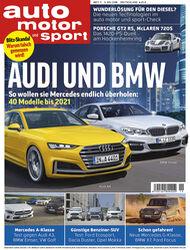 Neues Heft auto motor und sport 11/2018