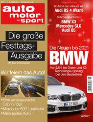 Neues Heft, auto motor und sport, Ausgabe 01/27017