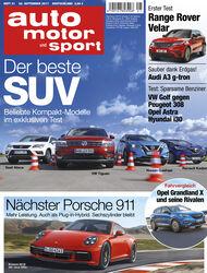Neues Heft auto motor und sport, Ausgabe 21/2017, Heftvorschau