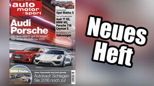Neues Heft, auto motor und sport, Ausgabe 26/2016, Vorschau
