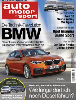Neues Heft auto motor und sport, Ausgabe 7/2017, Vorschau, Preview