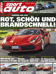 Neues Heft sport auto, Ausgabe 12/2016, Vorschau, Preview, Heftvorschau