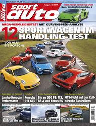 Neues Heft sport auto, Ausgabe 3/2017