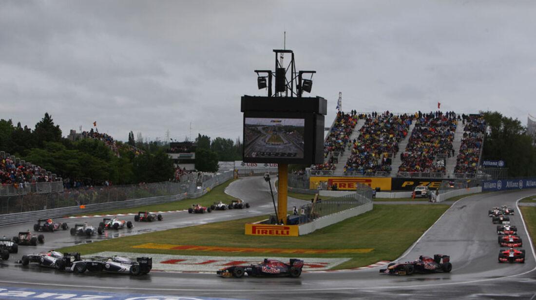 Neustart GP Kanada 2011