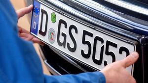 Neuzulassungen, Gebrauchtwagen, Kennzeichen