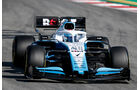 Nicholas Latifi - Williams - Formel 1 - Test - Barcelona - 15. Mai 2019