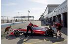 Nick Heidfeld - Mahindra - Formel E Test - Donington - 2016