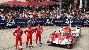 Nick Heidfeld - Rebellion - Le Mans 2014 - 24h-Rennen