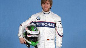 Nick Heidfelds Helm